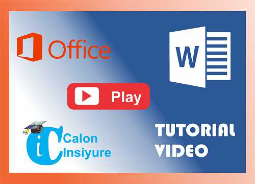 Video Tutorial Cara Membuat Mail Merger Pada Microsoft Word